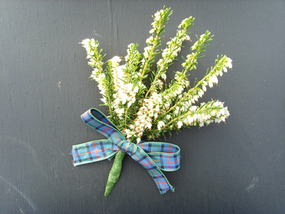 Photograph of Heather Buttonhole